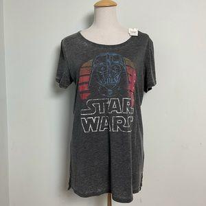 Ladies Star Wars Black T-Shirt. Size XL